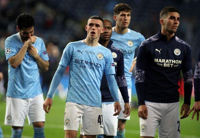 Guardiola expects City's players to use their past frustrations as motivation