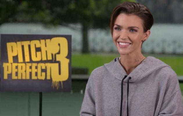 Ruby sat down with Be to discuss all things Pitch Perfect 3. Source: Be