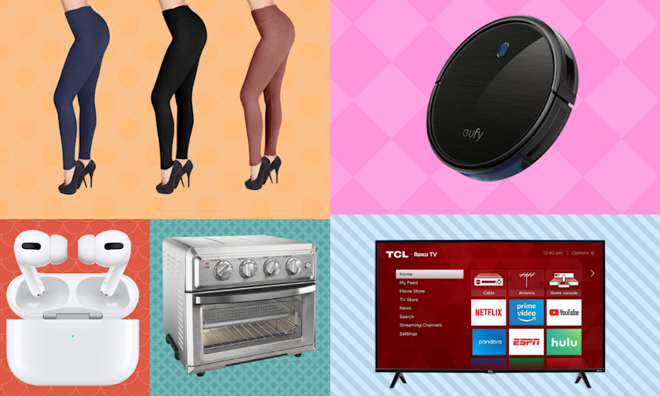 Score big discounts off everything from AirPods to leggings. (Photo: Amazon)