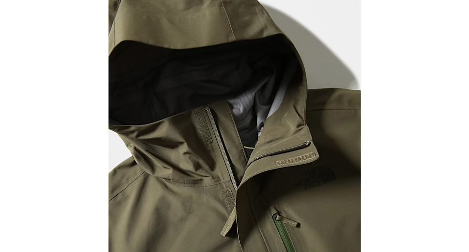 """<p>In true British fashion, we can expect a summer of scattered downpours. Protect your dad from the deluge with a North Face number designed to be totally weatherproof. </p><p>The Dryzzle uses Futurelight – a breathable, waterproof fabric technology – making it the perfect jacket for all the wet and windy weather this fair isle is famous for. </p><p>£200, <a href=""""https://www.thenorthface.co.uk/shop/en-gb/tnf-gb/mens-dryzzle-futurelighto-jacket-4ahm"""" rel=""""nofollow noopener"""" target=""""_blank"""" data-ylk=""""slk:the North Face"""" class=""""link rapid-noclick-resp"""">the North Face</a>.</p>"""