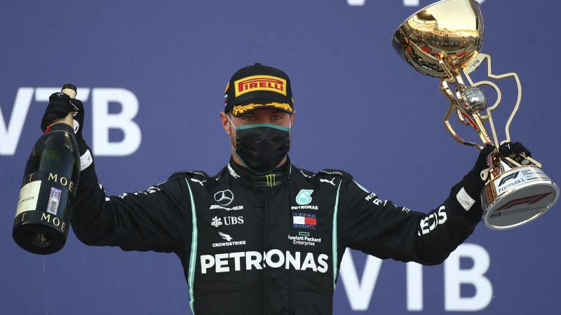 Valtteri Bottas sends message to critics after winning Russian Grand Prix