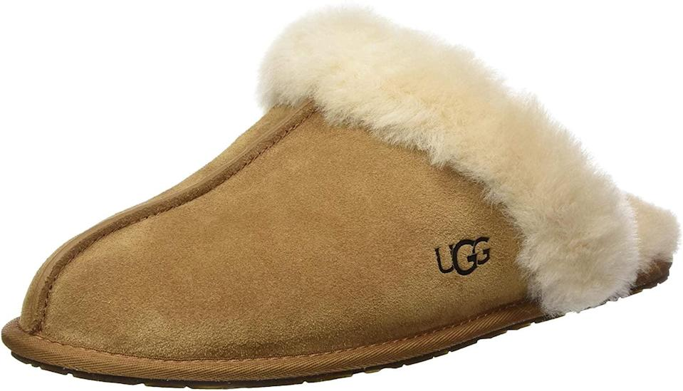 <p>We all know somebody who could use a fresh pair of these <span>UGG Scuffette II Slippers</span> ($90).</p>