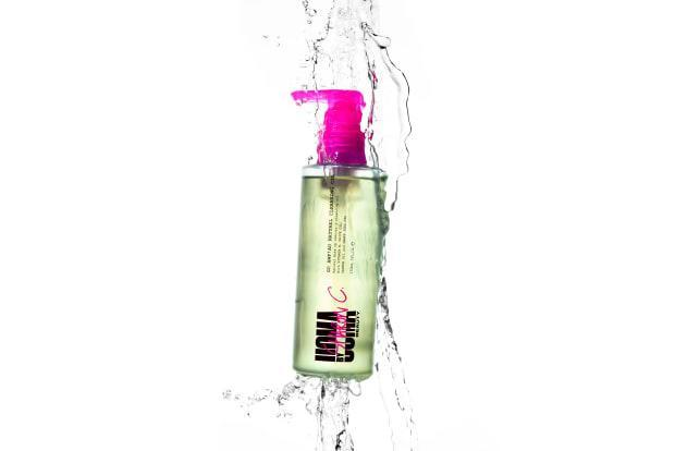 <p>Uoma by Sharon C. Go Awf Au Natural Cleansing Oil, $15.</p>