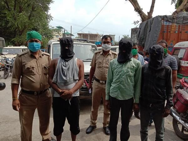 The three accused in front of a Siliguri court on Tuesday. (Photo/ANI)