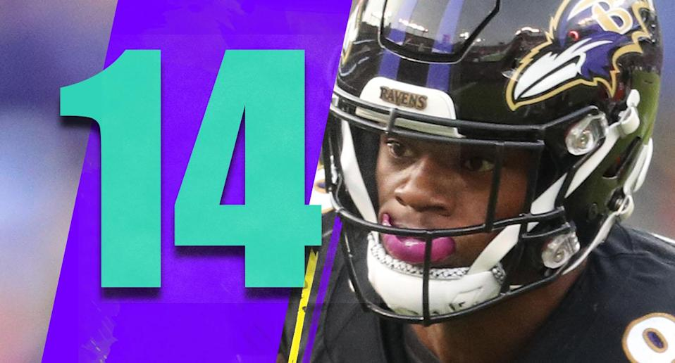 <p>A quarterback can't hold up running 27 times, like Lamar Jackson did against the Bengals on Sunday. And in the NFL, you need to pass. (Lamar Jackson) </p>