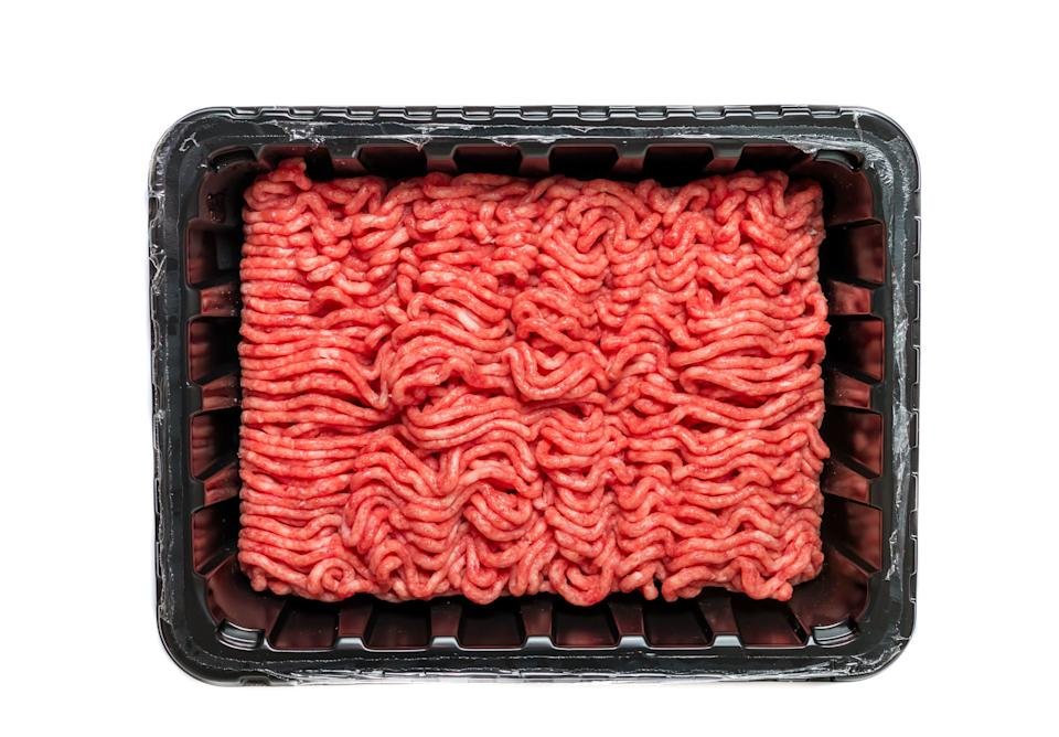 """Meat sales were <a href=""""https://www.supermarketnews.com/meat/meat-sales-consumption-surge-amid-covid-19-disruption"""" target=""""_blank"""" rel=""""noopener noreferrer"""">up by 91% year over year</a> for the week ending March 22. (Photo: Roxiller via Getty Images)"""