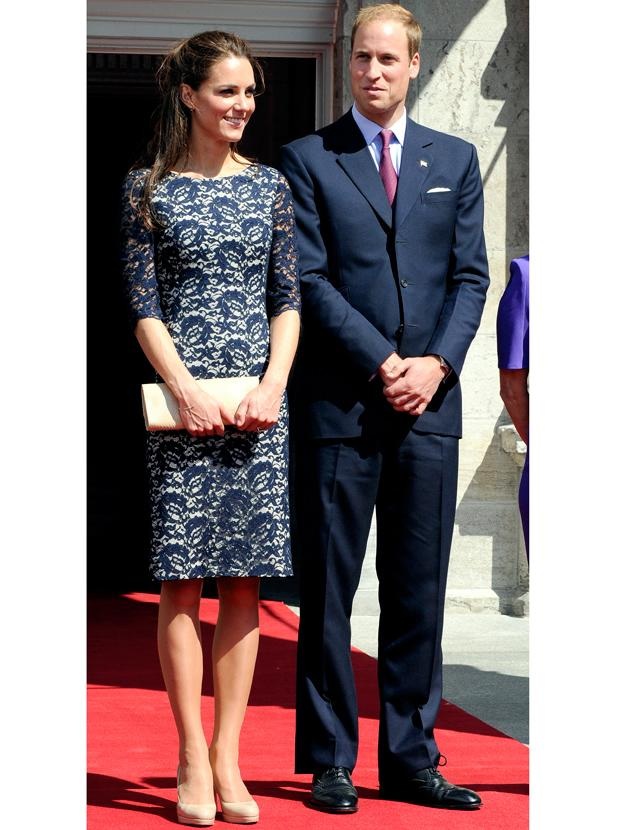 Kate Middleton photos: The Duchess' love of lace is not secret and after she wore this Erdem Cecile  frock – the nation agreed with her from trims to full on maxis we can't get enough of this material.