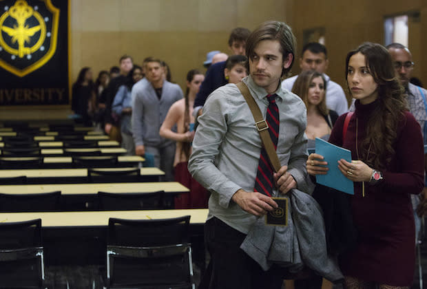 The Magicians Review Syfys Answer To Harry Potter Has Its Own