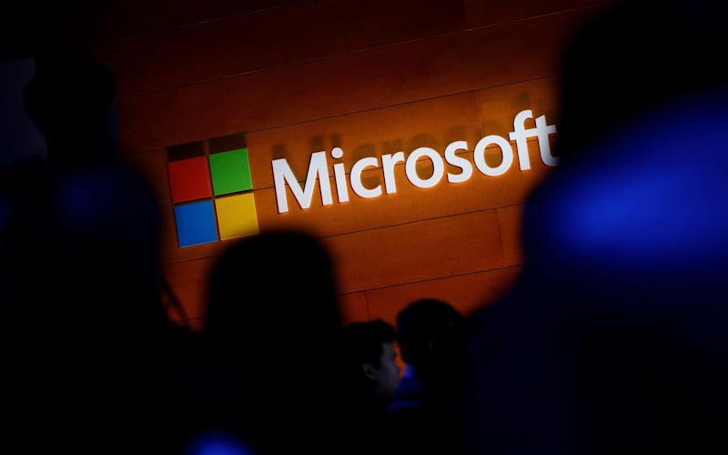 Microsoft took a swipe at the US government over the global hack - Credit: Getty