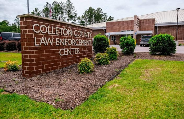 The Colleton County Law Enforcement Center home to the sheriff's office as seen on Tuesday, June 7, 2021.