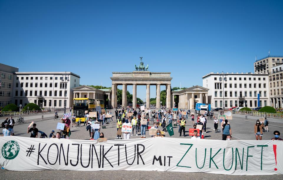Berlin demonstration