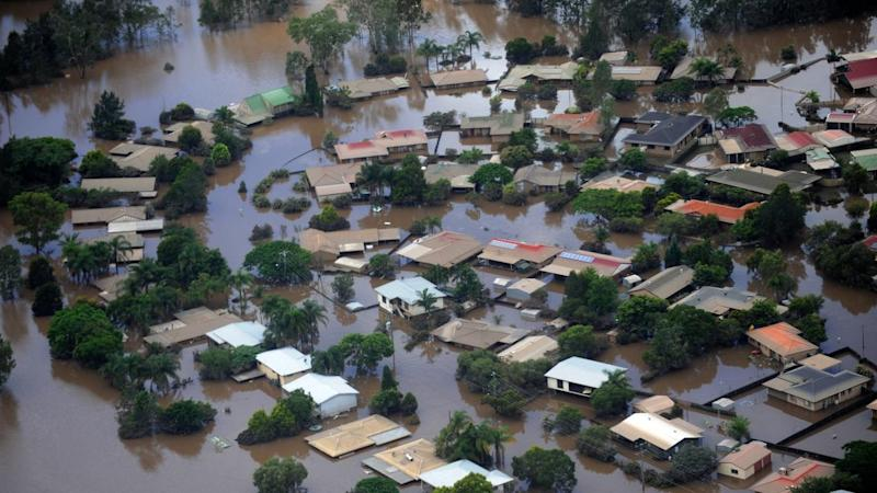 Floodwaters in 2011 inundated dozens of suburbs in Ipswich and Brisbane