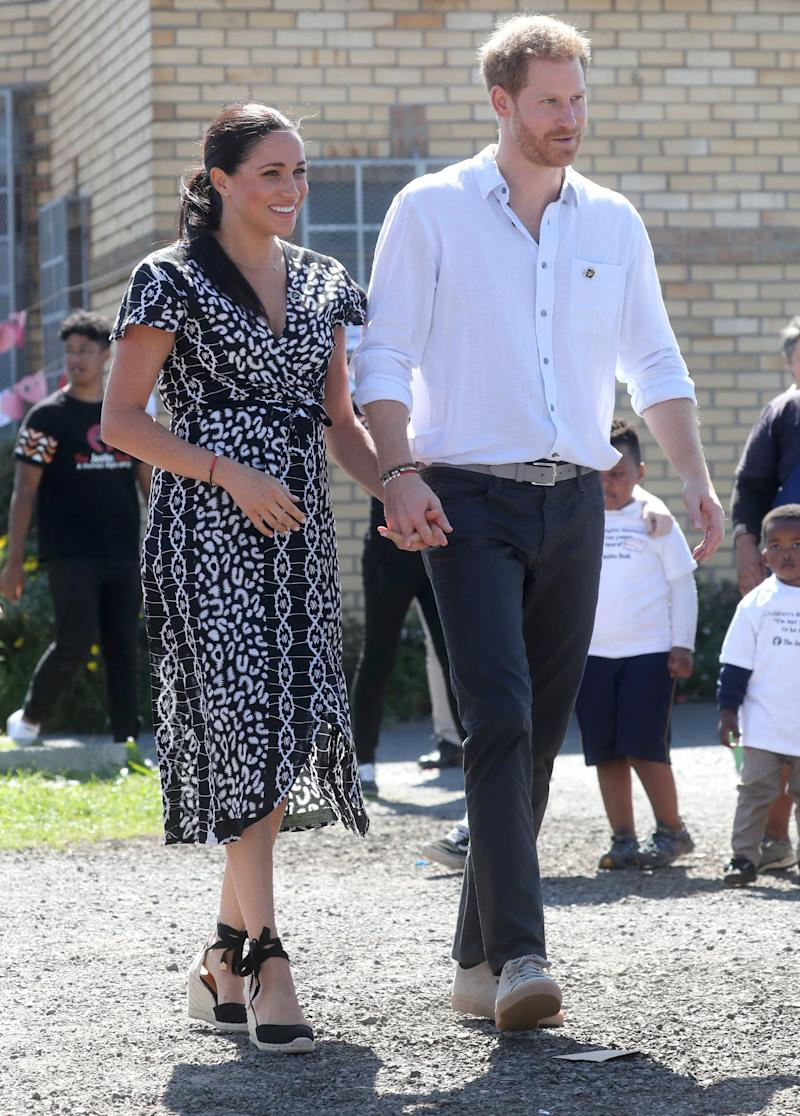 Meghan Markle In Cape Town Puts An Emerging African Designer In The Spotlight