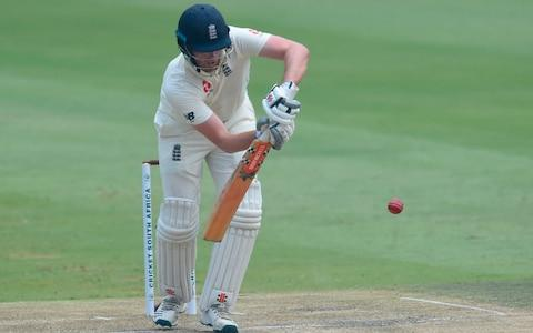 England's Dom Sibley plays a shot during the third day of the fourth Test cricket match between South Africa and England at the Wanderers Stadium in Johannesburg on January 26, 202 - Credit: AFP