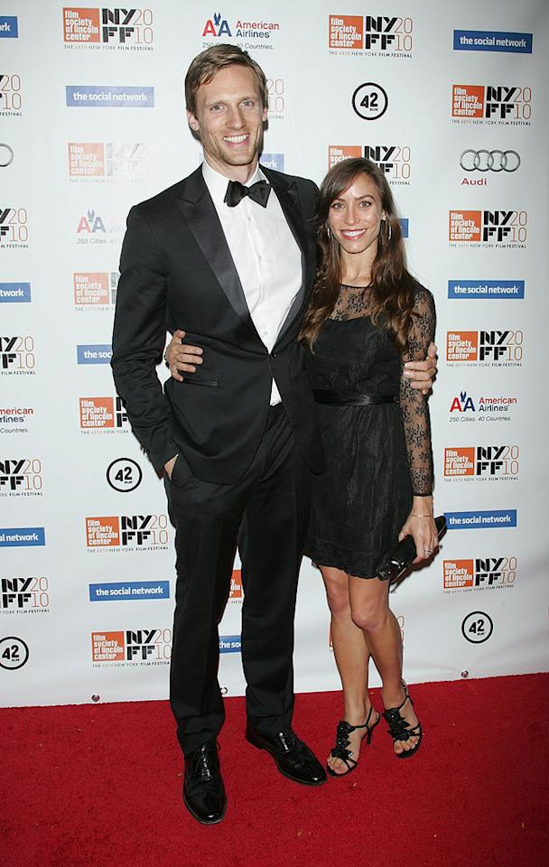 """<a href=""""http://movies.yahoo.com/movie/contributor/1809667957"""">Teddy Sears</a> at the New York City premiere of <a href=""""http://movies.yahoo.com/movie/1810128131/info"""">The Social Network</a> on September 24, 2010."""