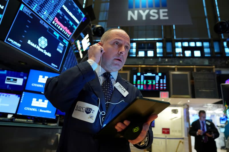 Stocks rise on Wall Street, but China's main market dives
