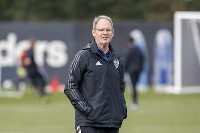FILE PHOTO: MLS: MLS Cup-Seattle Sounders FC Training
