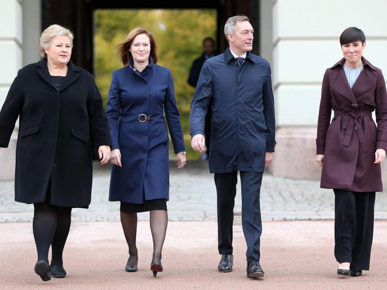 Women now occupy three most senior roles in Norway's government