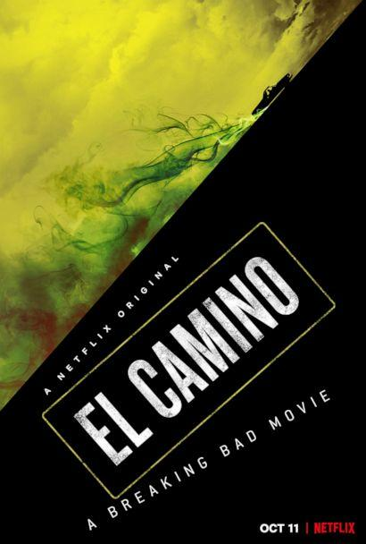 PHOTO: Promotional art from the movie, 'El Camino - A Breaking Bad Movie,' on Netflix. (Netflix)