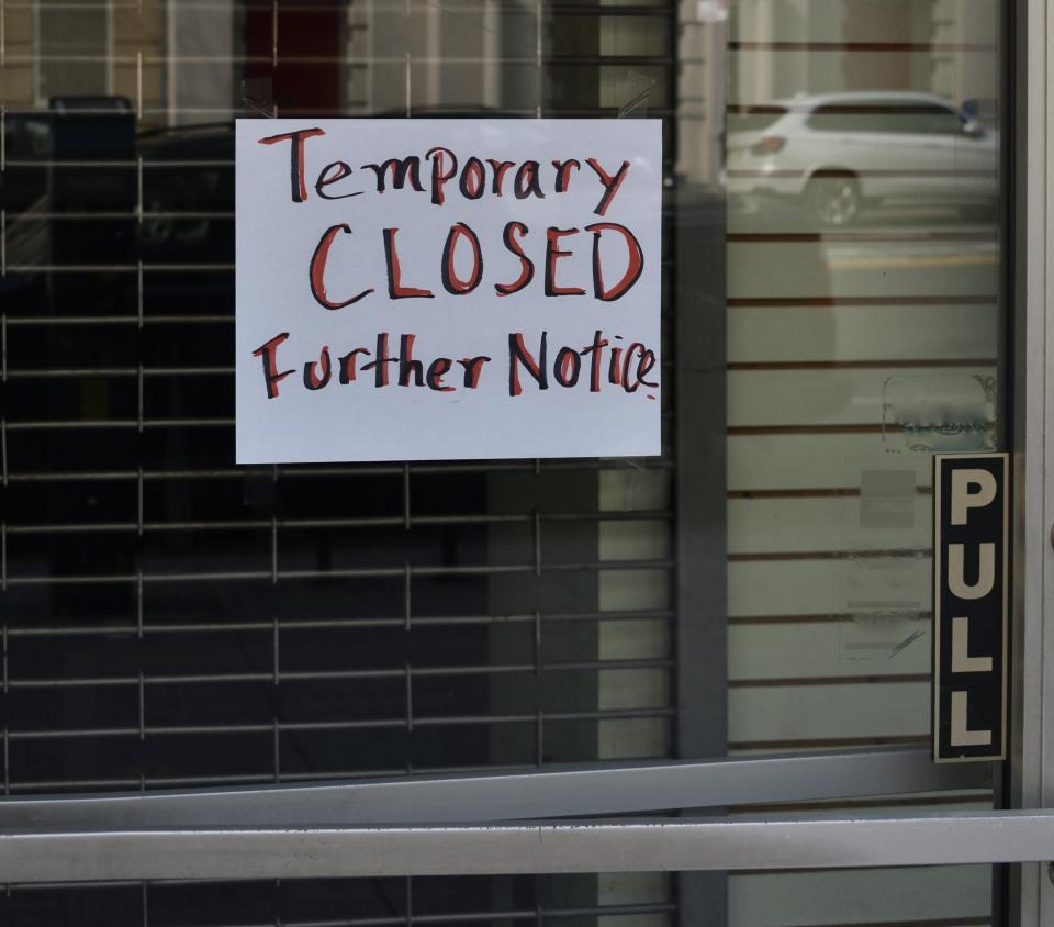 Businesses are already suffering even though the wave of bankruptcy filings has yet to come. Image: Getty