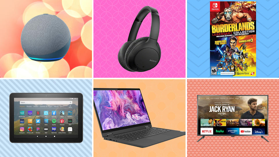 TVs and headphones and laptops, oh my! These Prime Day deals are off the charts. (Photo: Yahoo Life)