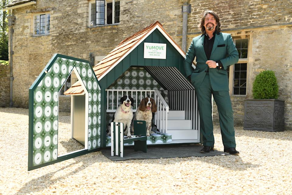 Interior designer Laurence Llewelyn-Bowen has created the 'World's Best Dog House'. (YuMOVE/Doug Peters/PA Wire)