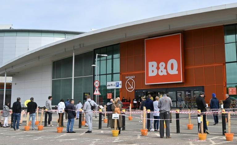Kingfisher's stores include B&Q shops like this one in London. Sales jumped as people spent lockdowns improving their homes.