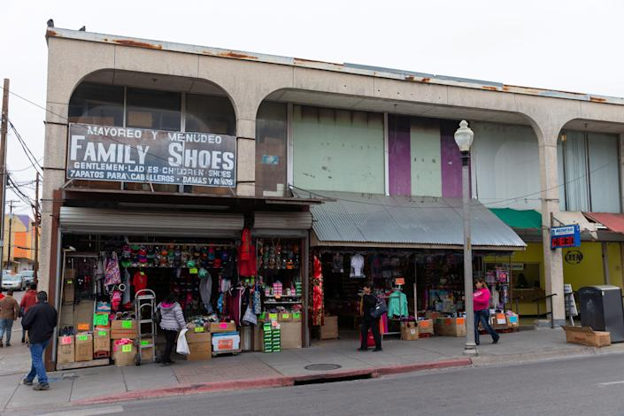 """Thousands of people cross back and forth every day, in cars or on foot, between Laredo, Texas, and its sister city, Nuevo Laredo in the Mexican state of Tamaulipas. The two cities have a """"strong connection without a doubt,"""" Laredo Mayor Pete Saenz says. """"We are connected economic-wise, culture-wise, socially as well."""""""