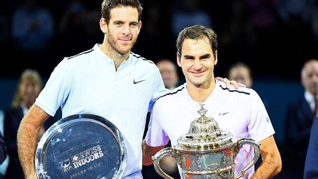 Federer was too good for Del Potro in Basel. Image: Getty