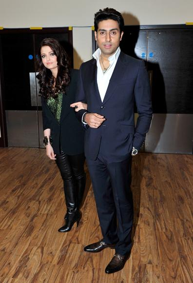 Snapshots of Aishwarya and Abhishek's romantic London moments