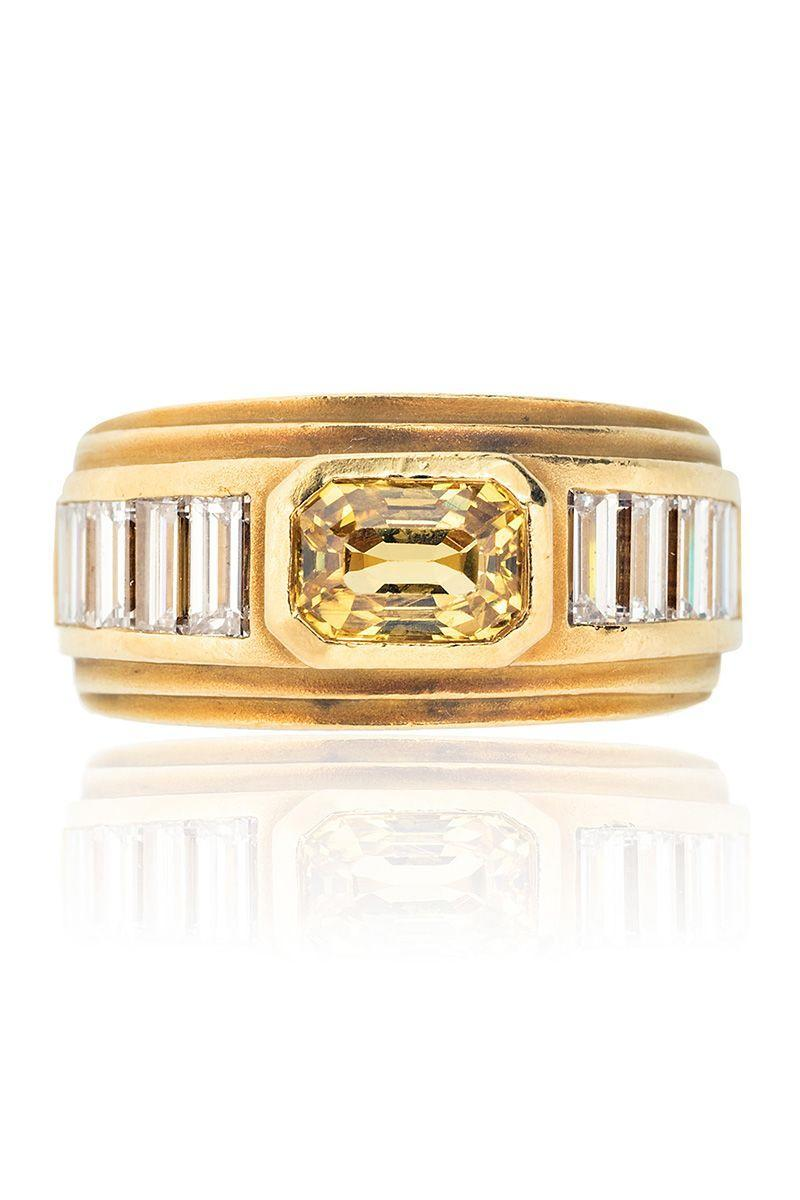 "<p><em><strong>Tiina Smith</strong> Kieselstein-Cord Yellow Sapphire and Diamond Ring, $7,200, <a href=""https://tiinasmithjewelry.com/collections/vintage-rings/products/kieselstein-cord-sapphire-diamond-ring?variant=33240126718038"" rel=""nofollow noopener"" target=""_blank"" data-ylk=""slk:tiinasmithjewelry.com"" class=""link rapid-noclick-resp"">tiinasmithjewelry.com</a></em></p><p><a class=""link rapid-noclick-resp"" href=""https://tiinasmithjewelry.com/collections/vintage-rings/products/kieselstein-cord-sapphire-diamond-ring?variant=33240126718038"" rel=""nofollow noopener"" target=""_blank"" data-ylk=""slk:SHOP"">SHOP</a></p>"