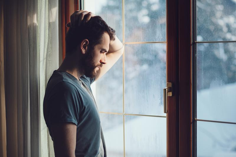 Men are three times more likely to commit suicide than women [Photo: Getty]