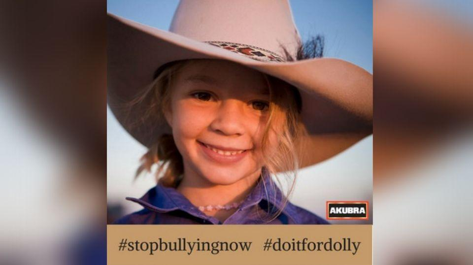 An anti-bullying campaign has been started following the death of Amy 'Dolly' Everett'. Source: Facebook/AkubraHats
