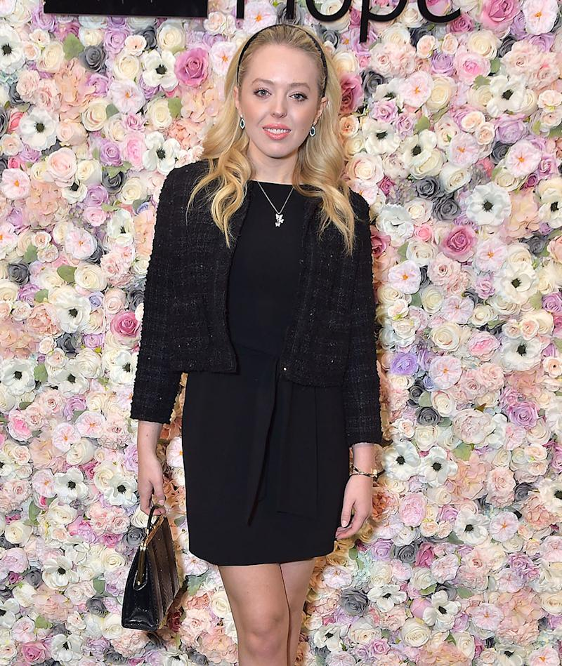 It will be less fashion shows and more lectures for Tiffany Trump, pictured here at Spirit of Life Award Luncheon & Fashion Show today. She'll be attending Georgetown Law School this fall. (Photo: Getty Images)