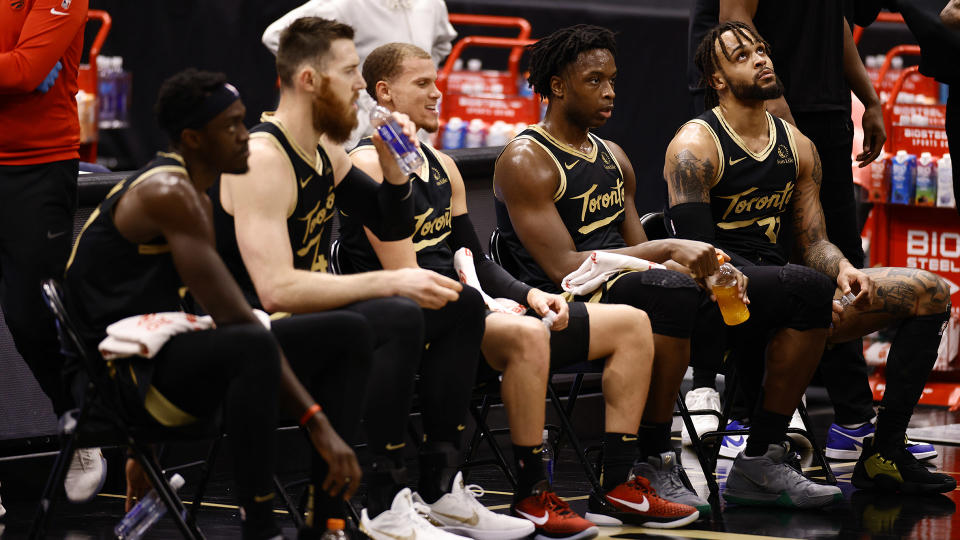 There have been some success stories for the Raptors during what has been a frustrating and disappointing season. (Photo by Douglas P. DeFelice/Getty Images)