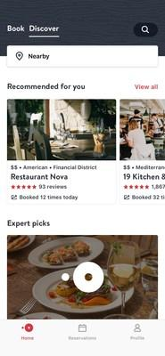 OpenTable Caters To The OntheGo LastMinute Diner With Dynamic - What is open table