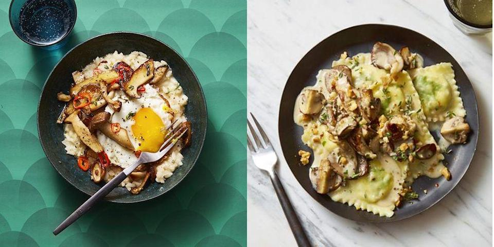 """<p>Mushrooms are found in <em>so</em> many classic dishes in kitchens across the world, from <a href=""""https://www.goodhousekeeping.com/food-recipes/easy/g2341/pasta-recipes-with-5-ingredients/"""" rel=""""nofollow noopener"""" target=""""_blank"""" data-ylk=""""slk:swimming in creamy pasta sauces"""" class=""""link rapid-noclick-resp"""">swimming in creamy pasta sauces</a> to <a href=""""https://www.goodhousekeeping.com/food-recipes/healthy/g960/healthy-lunch-ideas/"""" rel=""""nofollow noopener"""" target=""""_blank"""" data-ylk=""""slk:bulking up our favorite sandwiches and salads"""" class=""""link rapid-noclick-resp"""">bulking up our favorite sandwiches and salads</a>. On their own, they have a rich, umami flavor profile that many home cooks can't get enough of. But in other dishes, mushrooms can bring our favorite flavors to new heights. And just like they transcend the pages of nearly every kind of cookbook, you'll find mushrooms on the menu at any time of day — from <a href=""""https://www.goodhousekeeping.com/food-recipes/easy/g871/quick-breakfasts/"""" rel=""""nofollow noopener"""" target=""""_blank"""" data-ylk=""""slk:an early breakfast"""" class=""""link rapid-noclick-resp"""">an early breakfast</a> to a midday snack and finally, <a href=""""https://www.goodhousekeeping.com/food-recipes/easy/g34360988/easy-dinner-recipes/"""" rel=""""nofollow noopener"""" target=""""_blank"""" data-ylk=""""slk:in the most delicious dinner"""" class=""""link rapid-noclick-resp"""">in the most delicious dinner</a> you've had this week.</p><p>In addition to being downright delicious, <a href=""""https://www.goodhousekeeping.com/health/diet-nutrition/a27633487/mushroom-health-benefits/"""" rel=""""nofollow noopener"""" target=""""_blank"""" data-ylk=""""slk:mushrooms have earned their heart-healthy halo"""" class=""""link rapid-noclick-resp"""">mushrooms have earned their heart-healthy halo</a> time and time again. All home cooks, but especially <a href=""""https://www.goodhousekeeping.com/health/diet-nutrition/a35217200/best-diets-2021/"""" rel=""""nofollow noopener"""" target=""""_blank"""" data-ylk=""""slk:those on low-sodium diets"""" cl"""
