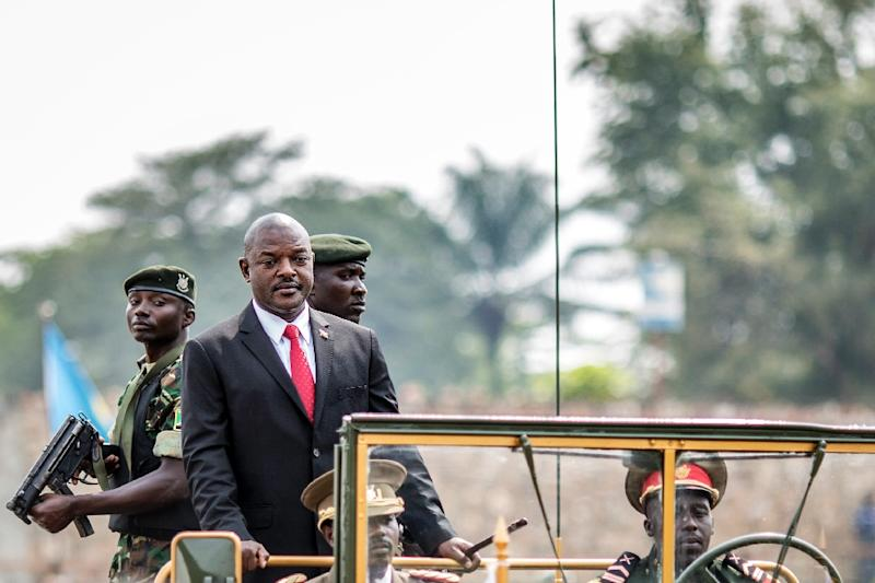 Burundi has been in turmoil since President Pierre Nkurunziza announced plans in April last year to run for a third term, which he went on to win (AFP Photo/Marco Longari)