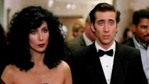 <p> Sicilian New York widow Loretta (Cher) is set to to marry Johnny Cammareri (Danny Aiello) - a man she likes but doesn't love - much to the enthusiasm of her parents. With Johnny back in Italy, he urges her to contact his younger, feisty brother Ronny (Nicolas Cage) to invite him to the wedding. They drive each other up the wall, which can only mean one thing, right? *cue fireworks* </p> <p> The relationship between Loretta and her father Cosmo (Vincent Gardenia) is a treat. Their digs at each other are the foundation of the movie's chuckles. </p>