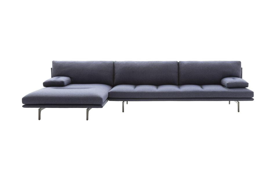 "<p>This is the latest evolution of the 'Monobloc' sofa. Designed by De Pas, D'Urbino and Lomazzi, it is notable for its strict, rationalist form that is the perfect addition to urban settings. £8,641, <a href=""https://www.zanotta.it/en-us/prodotti/sofas/milano-plus"" rel=""nofollow noopener"" target=""_blank"" data-ylk=""slk:zanotta.it"" class=""link rapid-noclick-resp"">zanotta.it</a></p>"