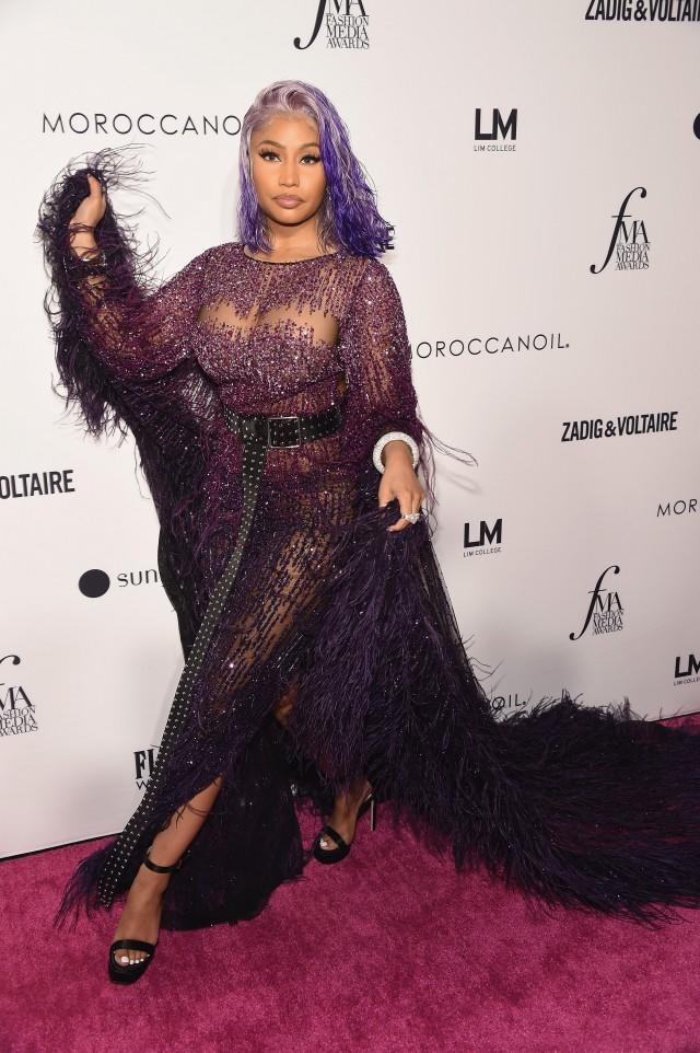 Nicki Minaj Daily Front Row Fashion Awards