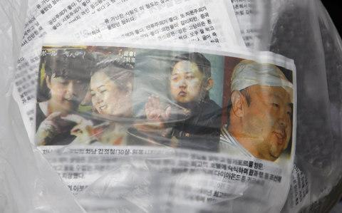 Anti-North Korea leaflets carried by a balloonCredit: REUTERS/Lee Jae-Won/Files