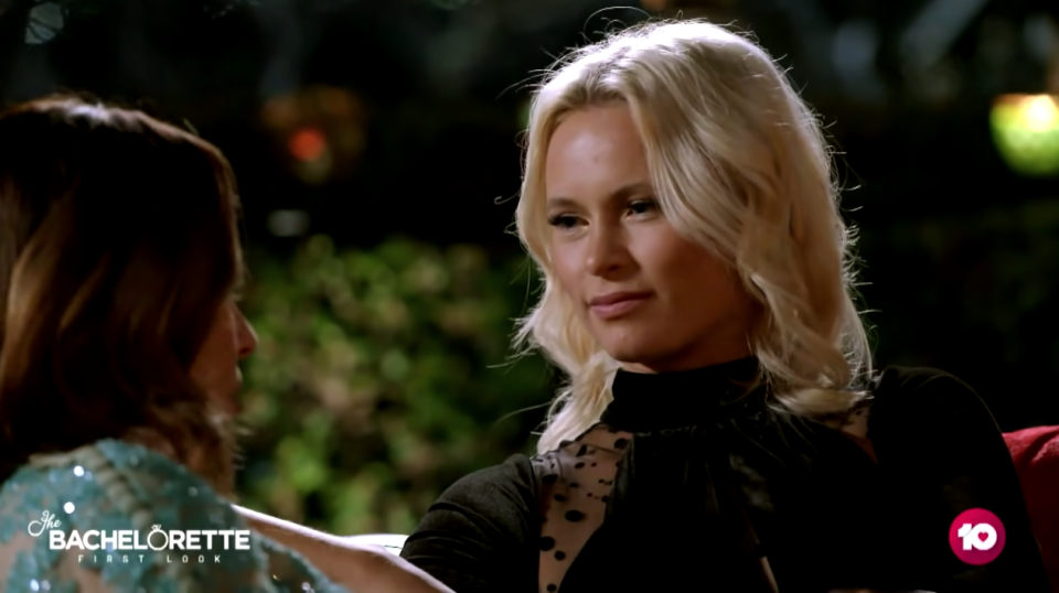 Dancer Holly makes an immediate impression on Brooke. Photo: Network 10