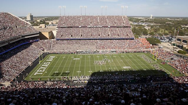 COLLEGE STATION, TX – SEPTEMBER 24: A general view of Kyle Field on September 24, 2011 in College Station, Texas. (Photo by Bob Levey/Getty Images)
