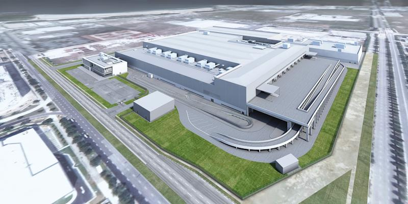 Dyson's advanced automotive manufacturing facility in Singapore that was scrapped. (ILLUSTRATION: Dyson)