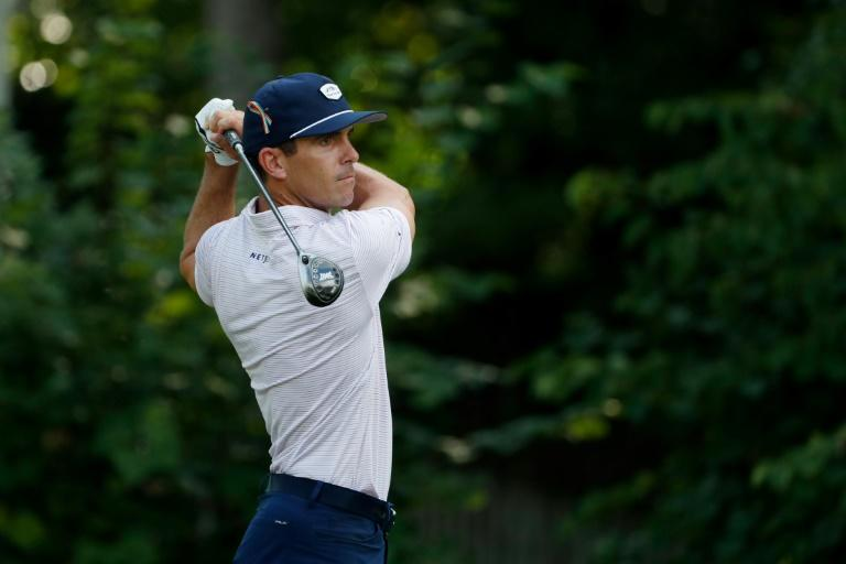 Horschel, Kim among leaders at log-jammed Wyndham Championship