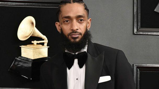 PHOTO: LOS ANGELES, CALIFORNIA - FEBRUARY 10: Nipsey Hussle attends the 61st Annual Grammy Awards at Staples Center on February 10, 2019 in Los Angeles, California. (Patrick McMullan via Getty Image)
