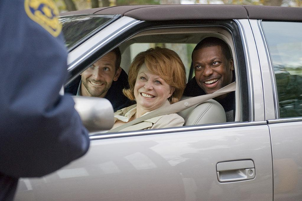 """Bradley Cooper, Jacki Weaver and Chris Tucker in The Weinstein Company's """"Silver Linings Playbook"""" - 2012"""