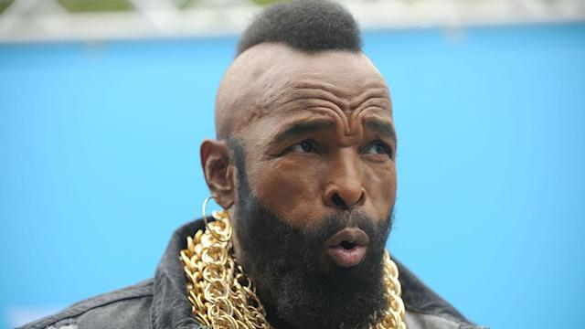 The United States' men curling team received a call from one of their biggest fans – Mr. T.