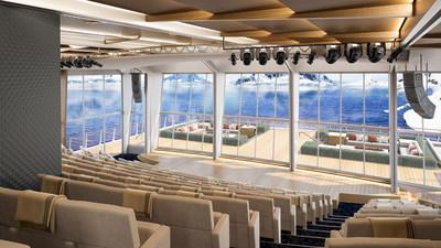 Viking has created the world's most advanced venue for learning at sea with The Aula, a stunning panoramic auditorium at the stern of its new expedition vessels. Inspired by the University of Oslo's famed ceremonial hall where the Nobel Peace Prize was historically awarded, The Aula will offer a dynamic venue for lectures and entertainment, with floor-to-ceiling windows and 270-degree views. For more information, visit www.viking.com.